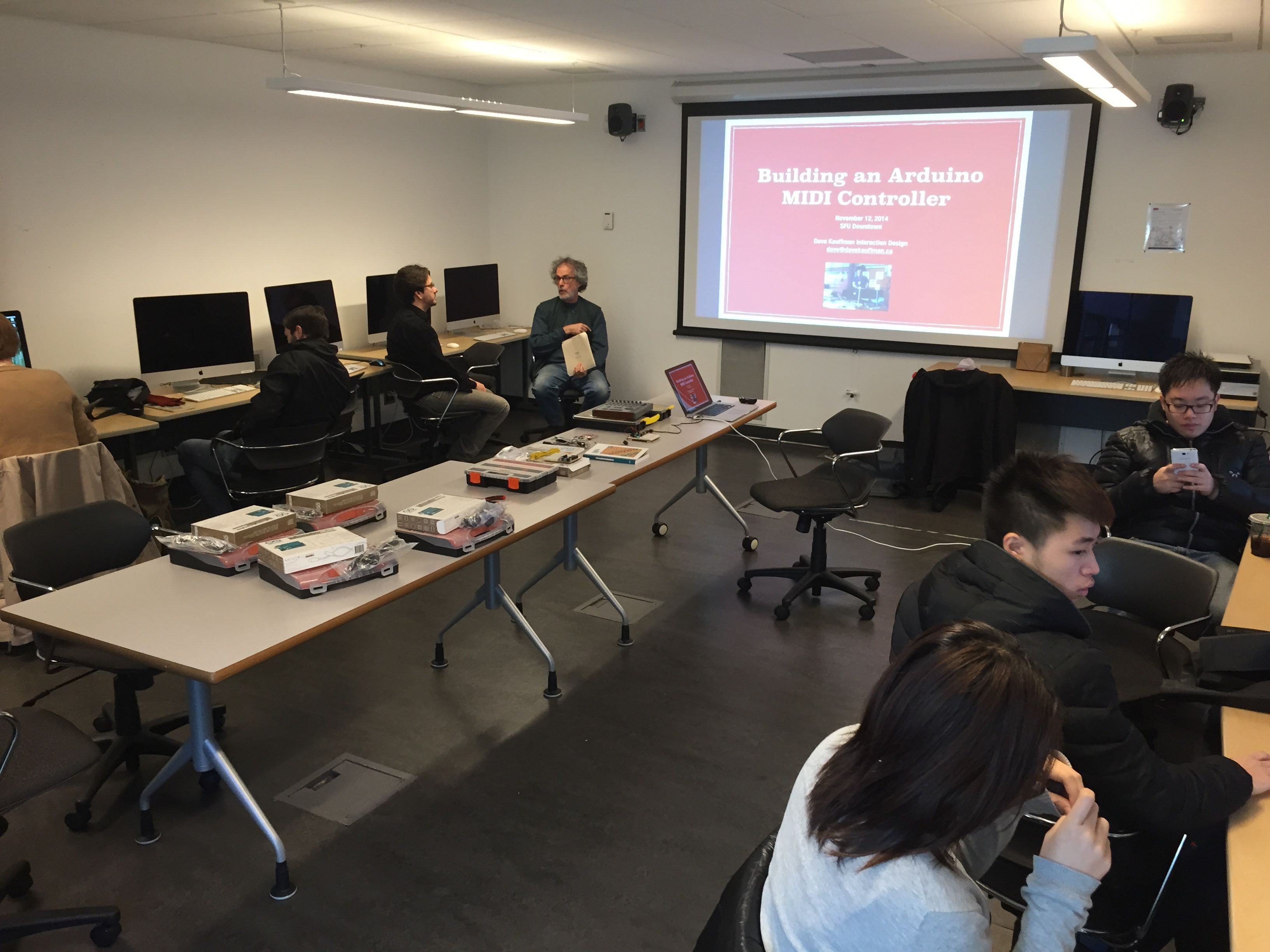 Arduino workshop at sfu as simple possible